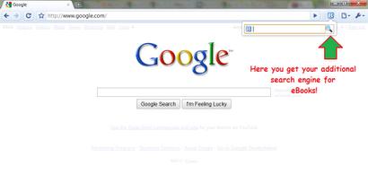 Επέκταση eBook Search για τον Google Chrome
