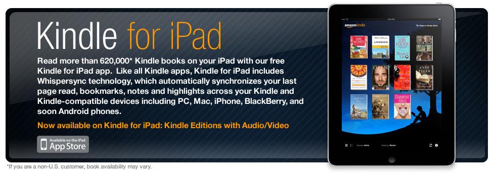 Εφαρμογή Kindle για iPad