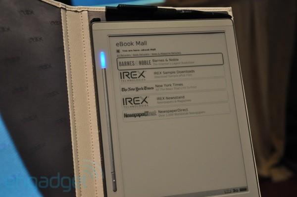 Η κατασκευάστρια εταιρεία του iLiad, η iRex, χρεοκόπησε