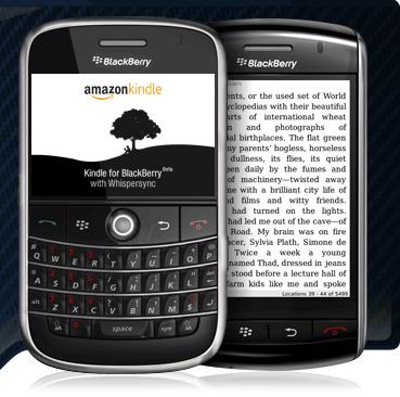 Kindle για κινητά Blackberry