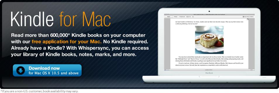 Kindle για υπολογιστές Mac