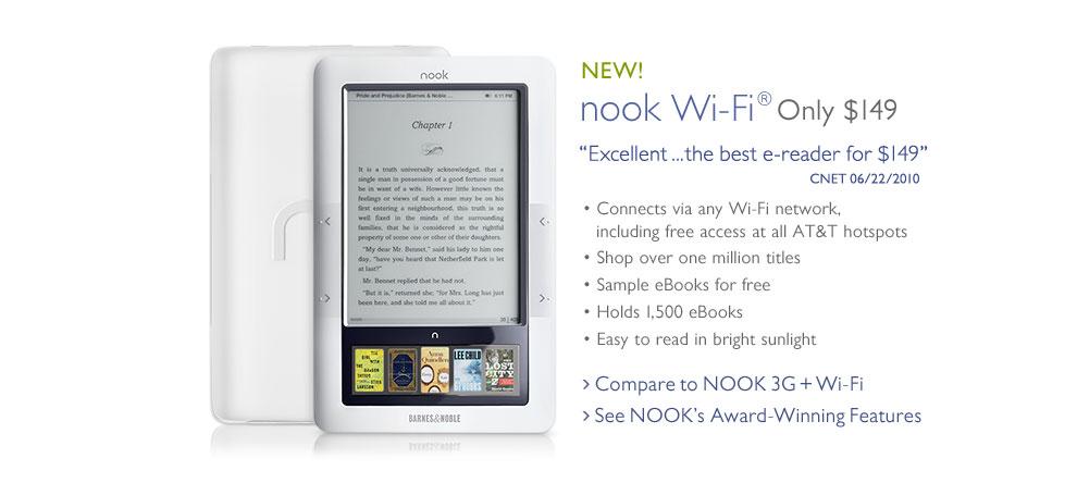 Επίσημη απάντηση της Barnes & Noble: ο e-reader Nook δε διατίθεται στην Ελλάδα