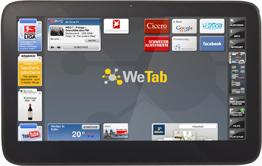 WeTab: το tablet PC από τη Γερμανία