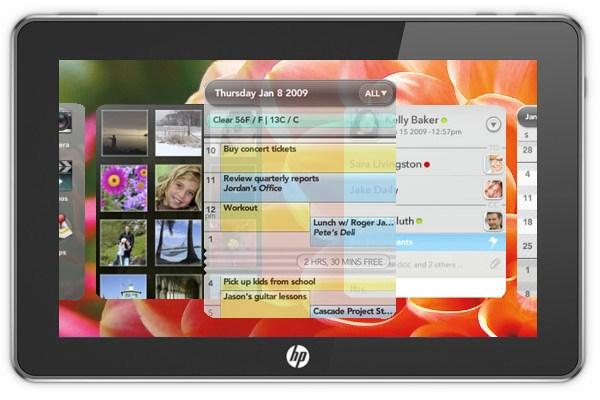 Hewlett-Packard: tablet PC με webOS στις αρχές του 2011