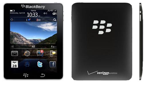 BlackPad: η απάντηση της RIM (BlackBerry) στο iPad