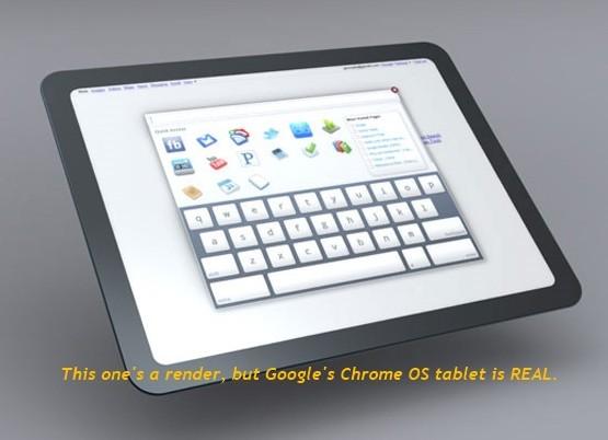 Διαρροές για tablet PC της HTC με Chrome OS της Google στις 26 Νοεμβρίου