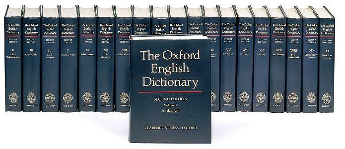 Η επόμενη έκδοση του Oxford English Dictionary ίσως να μην τυπωθεί ποτέ