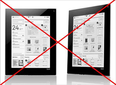 Η Plastic Logic ματαιώνει τον ηλεκρονικό της αναγνώστη, συζητά με ρωσική εταιρεία