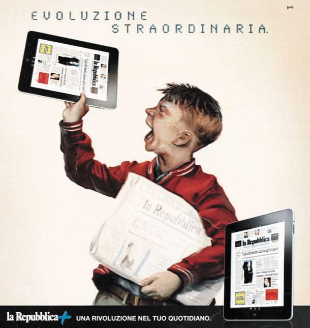 Times επί πληρωμή, Repubblica για iPad – και οι ελληνικές εφημερίδες;