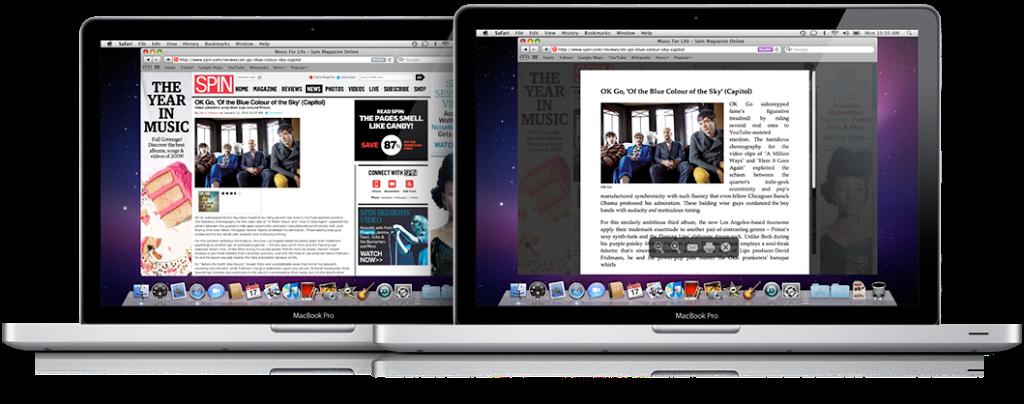 Στο πρότυπο του Reader του Safari 5: επεκτάσεις για Chrome και <span class=