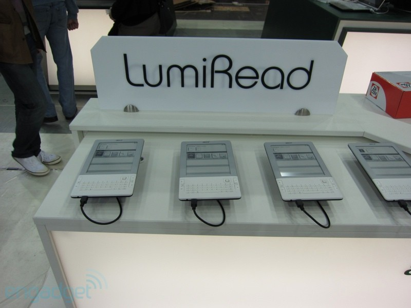 LumiRead, ο αναγνώστης από την Acer, επίσημα και €179 με WiFi