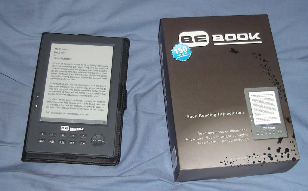 Hands-on παρουσίαση του BeBook One 2010 Edition (video)