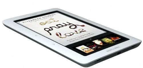 CNET: Έρχεται Nook Color με touchscreen έγχρωμη οθόνη 7 ιντσών