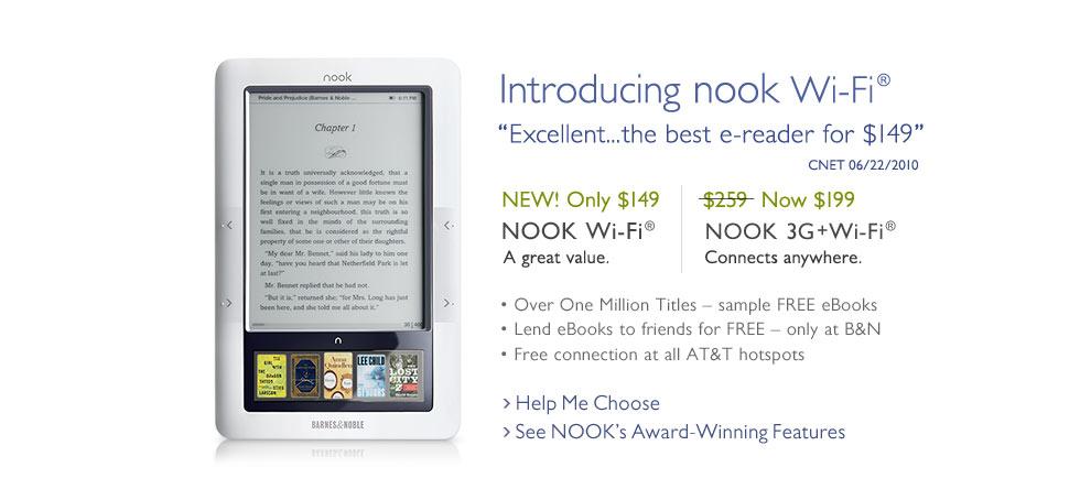 Το iPad προκαλεί πόλεμο τιμών στους ηλεκτρονικούς αναγνώστες: πρώτη μείωση για το Nook