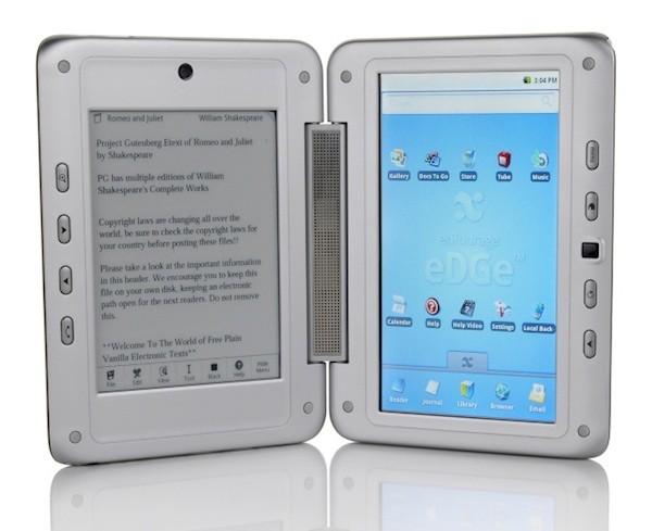 Στην Ευρώπη το enTourage Pocket eDGe, με δύο οθόνες αφής, ηλεκτρονικού χαρτιού και LCD