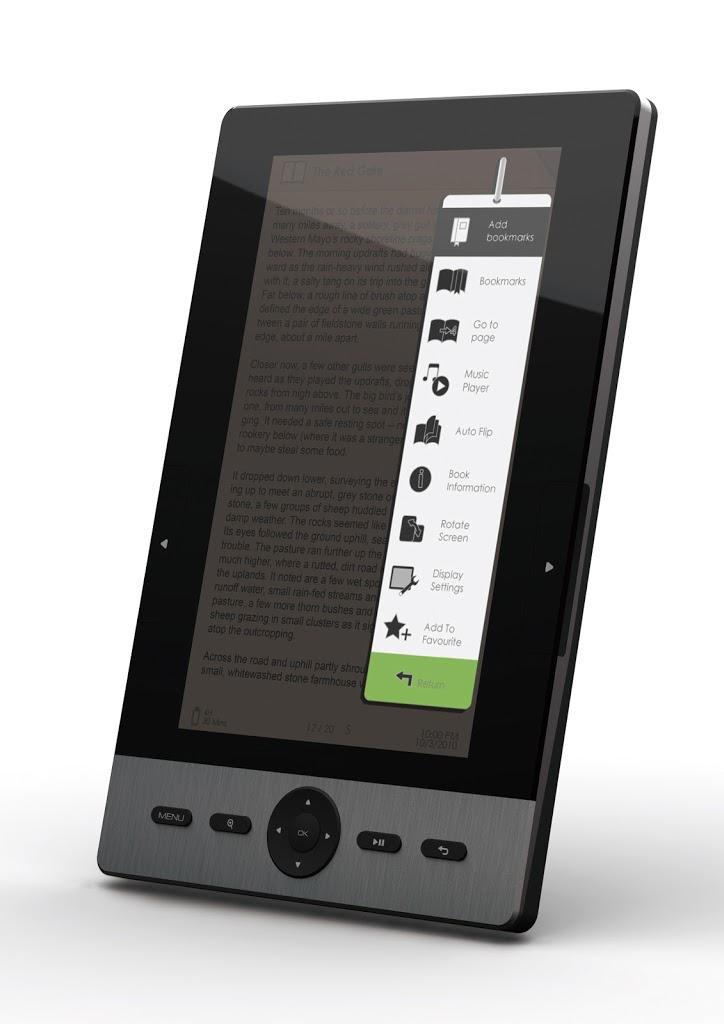 Και στο e-shop.gr o SigmaTek EBKT-101, ebook reader με οθόνη LCD