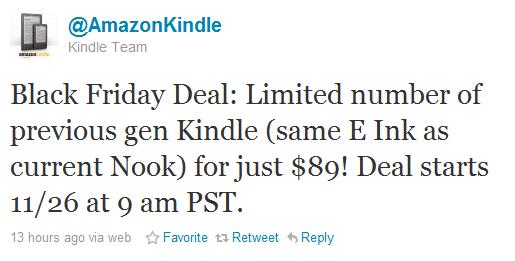 Amazon: Kindle 2 για λίγες ώρες μόνο με $89