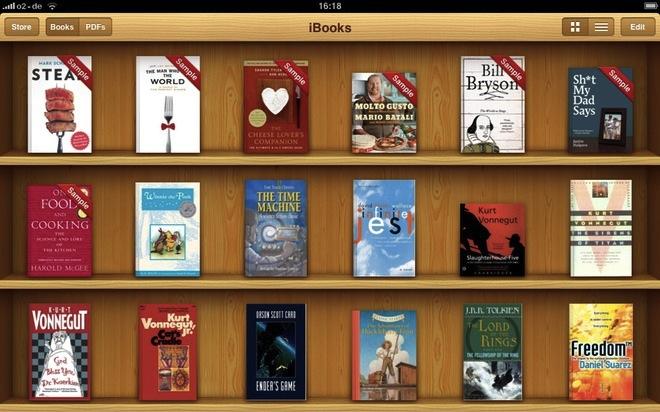 """""""Έρχονται"""" οι φάκελοι και η διαχείριση PDF στο iBooks"""