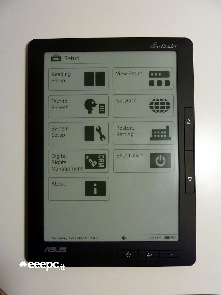 Πρώτο hands-on video για το Asus Eee Reader DR-900, στα €299, παραγγελίες και από Ελλάδα