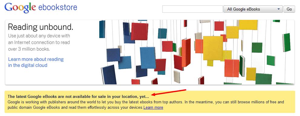 Ξεκίνησε σήμερα η λειτουργία του Google ebookstore