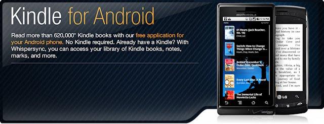 Kindle για κινητά με Android