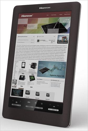 Ανακοινώνεται e-reader με έγχρωμο ηλεκτρονικό χαρτί από τη Hanvon