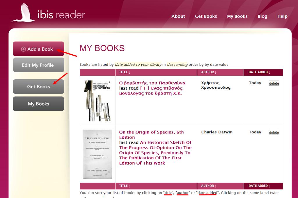 Ibis Reader, διαβάστε τα ebooks σας παντού – ακόμα και ePUB στο Kindle