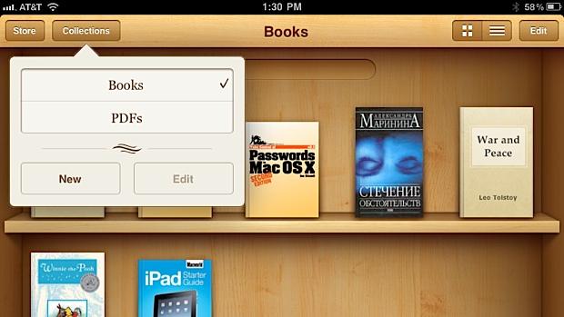 Έτοιμο το iBooks 1.2 με φακέλους, εκτύπωση και περισσότερες εικόνες