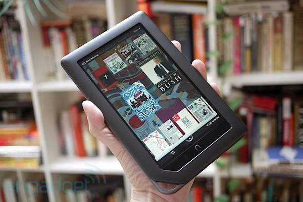 Barnes & Noble: πουλάμε περισσότερα ebooks απ' ό,τι τυπωμένα βιβλία στο site μας