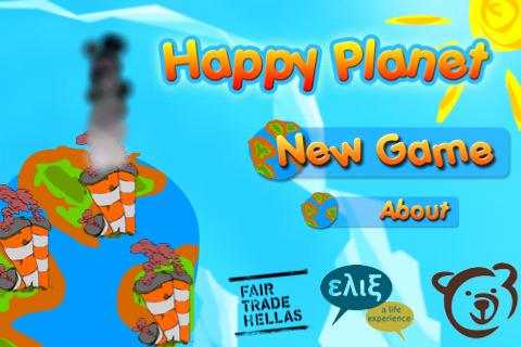 """10 promo codes για το εκπαιδευτικό παιχνίδι """"Happy Planet"""", για iPhone, iPad, iPod touch"""