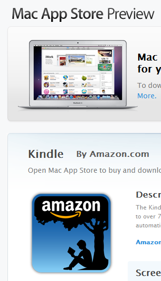 Kindle for Mac – η πρώτη εφαρμογή για την ανάγνωση ebooks στο Mac App Store