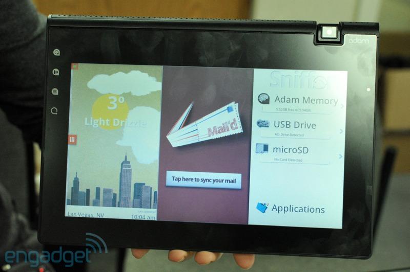 Πρώτο hands-on video για το Notion Ink Adam με τη νέα οθόνη Pixel Qi