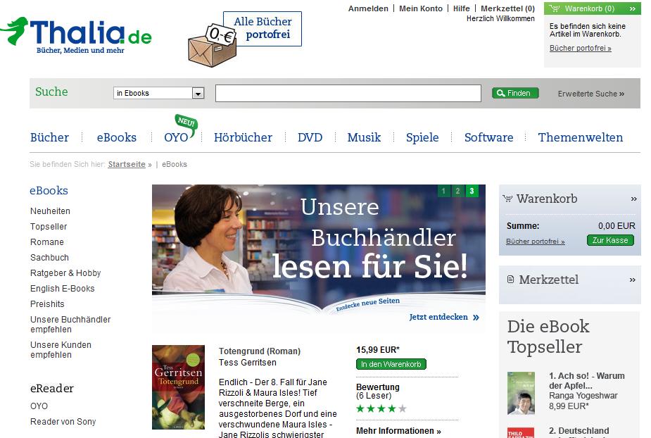 Γερμανία: Πολλαπλασιάζονται οι πωλήσεις ηλεκτρονικών βιβλίων