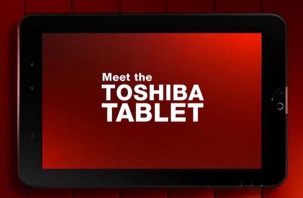 Το Toshiba Tablet έχει site με πολύ flash και πολλή κακία για το iPad