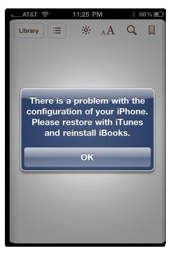 Η Apple προσπάθησε να αποκλείσει από το iBooks τα iPad και iPhone με jailbreak, αλλά δεν κράτησε πολύ