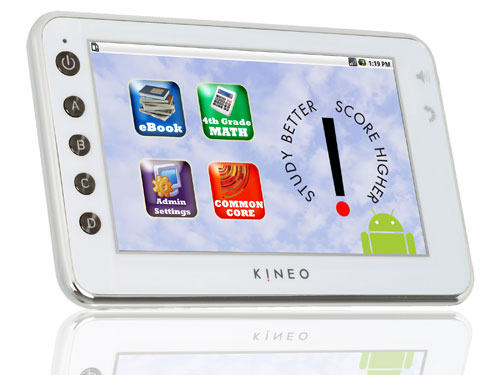 Kineo, tablet PC με Android ειδικά για την εκπαίδευση