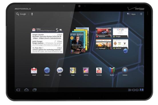 Motorola Xoom με Android 3.0 Honeycomb και τι σημαίνει για την ηλεκτρονική ανάγνωση