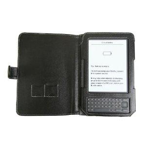 Πωλείται αχρησιμοποίητη δερμάτινη θήκη για Kindle 3