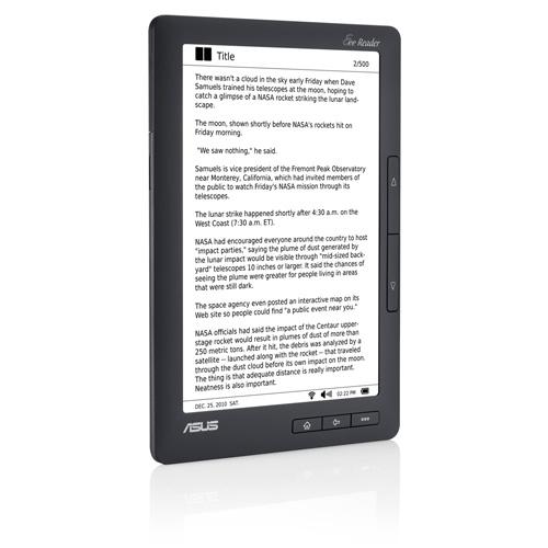 Hands-on παρουσίαση του Asus Eee Reader DR-900 (video)