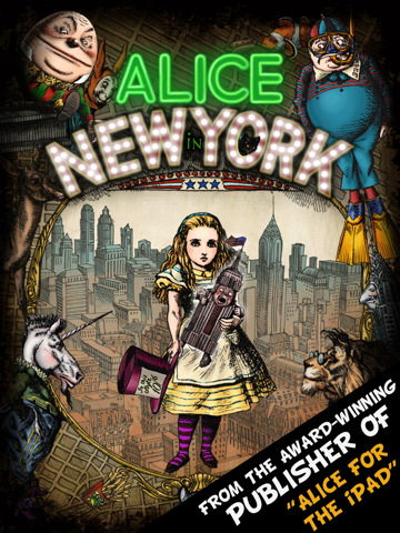 """Alice in New York"", το sequel της εφαρμογής ""Η Αλίκη στη Χώρα των Θαυμάτων"""