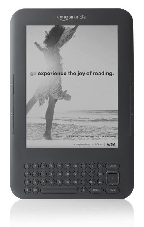 Kindle από το Amazon με μειωμένη τιμή και διαφημίσεις, αλλά μόνο για τις ΗΠΑ