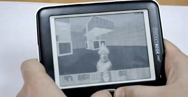 Παίζοντας Doom 2 σε οθόνη ηλεκτρονικού χαρτιού – PocketBook 360 Plus