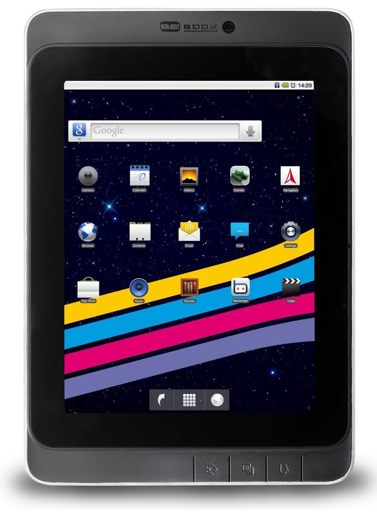 Επίσημα το BeBook Live Tablet με Android και €279