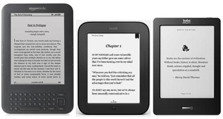 Kindle 3 vs Nook 2 vs Kobo Touch: το Kindle συνεχίζει να υπερέχει