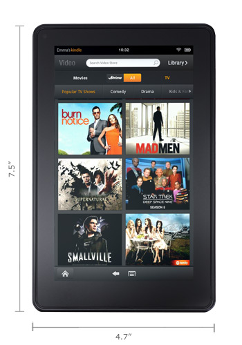 Kindle Fire, το tablet PC του Amazon με Android στα $199, αλλά μόνο για τις ΗΠΑ