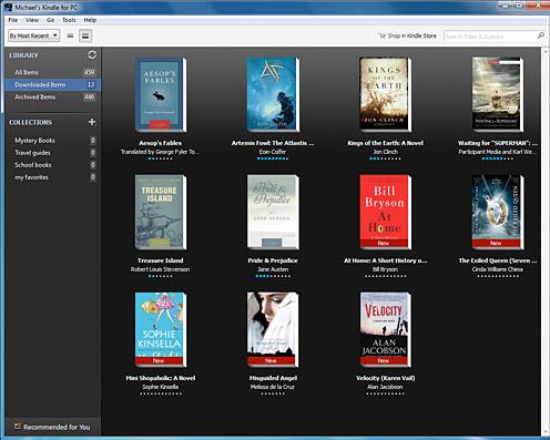 Ανάγνωση και αρχείων PDF με τις εφαρμογές Kindle for PC και Kindle for Mac