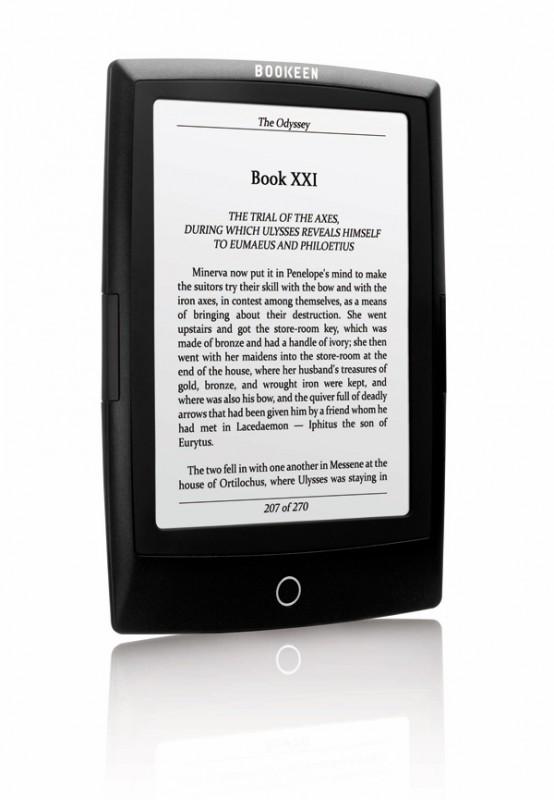 Τα πλήρη τεχνικά χαρακτηριστικά του e-reader Cybook Odyssey ανακοίνωσε η Bookeen