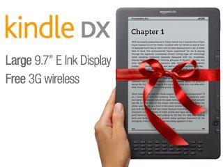 Μεγάλη προσφορά του Amazon για το Kindle DX – μόνο για λίγες μέρες