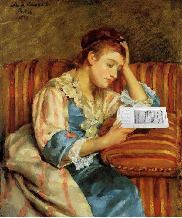 Kindle σε ιμπρεσιονιστικούς πίνακες