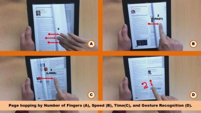 Ξεφυλλίζοντας ebooks στο iPad όπως τα τυπωμένα βιβλία (video)